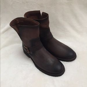 Frye Natalie Engineer Short Boots